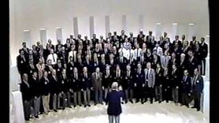 Treorchy Male Choir singing Men of Harlech in Australia