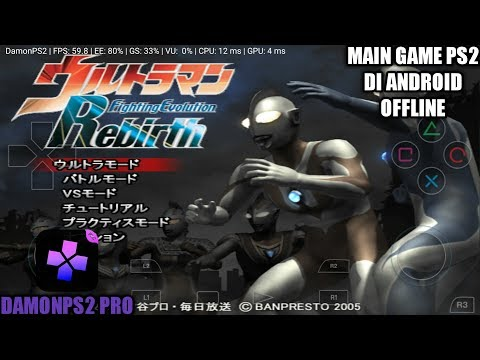 Download Game Ultraman Fighting Evolution Rebirth Ppsspp Iso