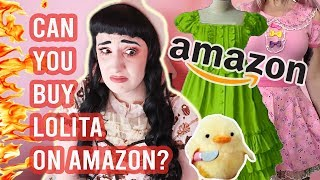 Can You Buy Lolita Fashion On Amazon?