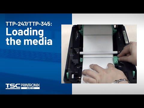 TSC TTP-345 Desktop Barcode Printer