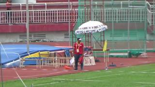 Javelin men final -  Asian Junior 2016