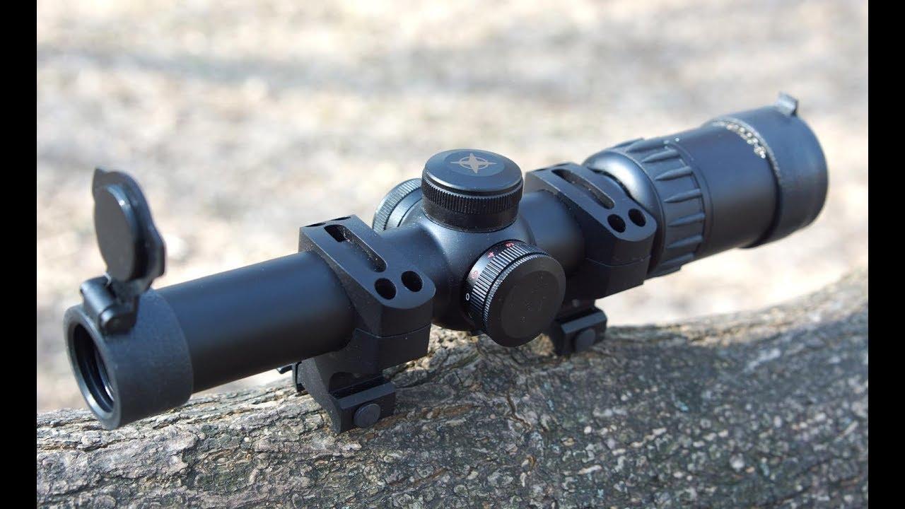 Тест прицела Sturman 1-6x24 от Gun and Outdoor tests