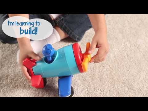 Youtube Video for 1-2-3 Build It - Rocket, Train, Helicopter!