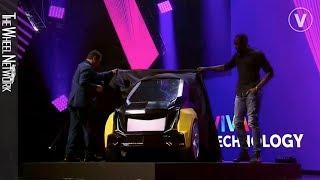 Bolt B-Nano Electric Car Unveil with Usain Bolt – VivaTech Paris
