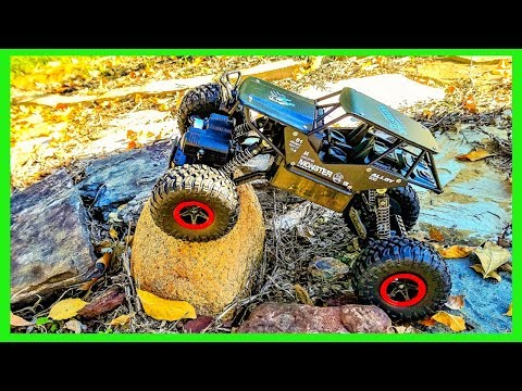 Sgile Rc Rock Crawler Off Road Car Review | Rc Monster Truck Unboxing