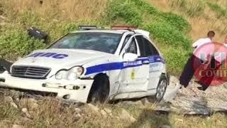 Автомобиль ДПС попал в аварию в Сочи