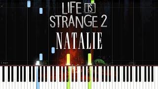 Milk & Bone   Natalie (OST Life Is Strange 2 Episode 3) [Synthesia Piano Tutorial]