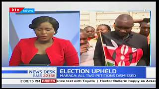 Gatundu residents jubilant over the decision by the Supreme Court