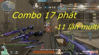 [ Bình Luận CF ] CETME Ameli-Purple Green cân hết - Tiền Zombie v4