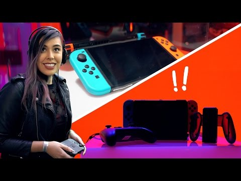 Nintendo Switch Hands On Review!