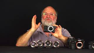 The Sony A-mount to E-mount LA-EA Adapters Explained