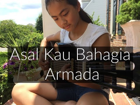 Asal Kau Bahagia ~ Armada | Fingerstyle Guitar Cover By Lanvy