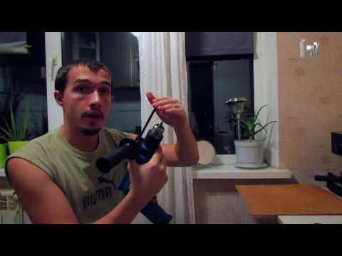 Знакомство с дрелью [Обучающее видео для новичков]