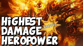 Highest Damage Hero Power