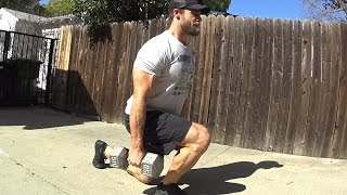 Home Workout Routine - Legs - Dumbbell Only by Buff Dudes Workouts