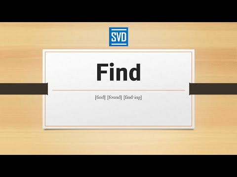 Download Find » Definition, Meaning, Pronunciation, Origin, Synonyms, Thesaurus, and Example Sentences Mp4 HD Video and MP3