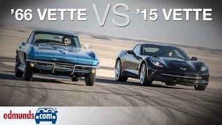 Chevrolet Corvette Stingray: 1966 vs. 2015  | A Comparison 50 Years in the Making