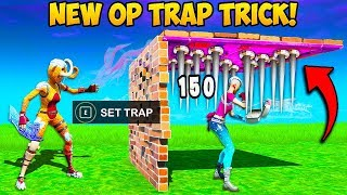 *IMPOSSIBLE* TELEPORTING TRAP IS OP!! - Fortnite Funny Fails and WTF Moments! #786