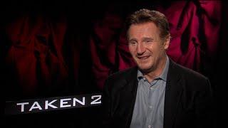 Liam Neeson Interview for TAKEN 2