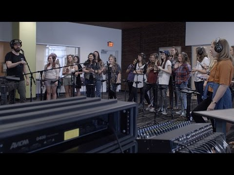 Worship Arts Students Record With Rend Collective
