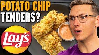 Easy Potato Chip Chicken Tenders Recipe