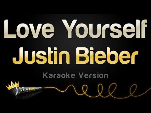 Justin Bieber - Love Yourself (Karaoke Version)