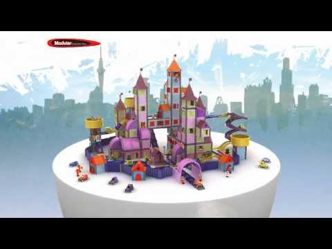 modulartoys 3d animated tv commercial