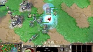 【疯狂6V6 乱矿比拆家】魔兽争霸大帝ORC 水友乱斗