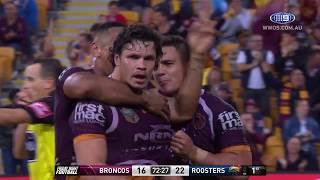 NRL Highlights: Brisbane Broncos V Sydney Roosters   Round 11