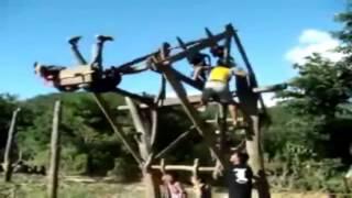 Kids Love This Homemade Ferris Wheel