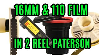 How to Develop 16mm & 110 Film in a 2 Reel Patterson Tank / Reel Modification Tutorial