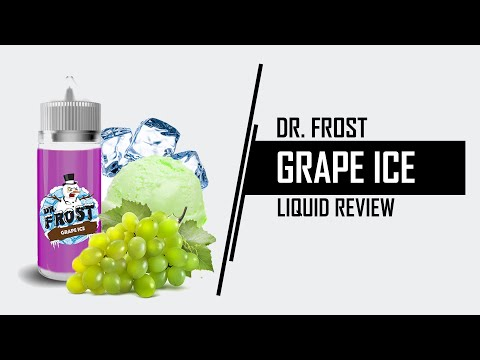YouTube Video zu Dr. Frost Grape Ice ShortFill Premium Liquid 100 ml