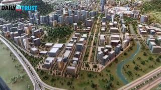 Nigeria''s Centenary City 3D model