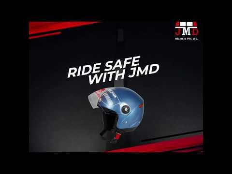 Grand Premium Golden Open/ Half Face Helmet