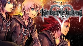 Kingdom Hearts 358/2 Days Game Movie (HD Remix Edition) All Cutscenes 1080p