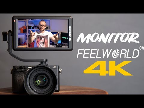 MONITOR completo para cámaras Sony Canon Nikon - Feelworld F6 4k