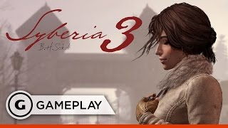 Escape from the Asylum in Syberia 3 - Gameplay
