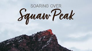 "Hiking squaw peak before sunrise to get a ""drones eye"" view"