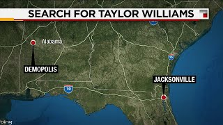 Focus of search for 5-year-old Taylor shifts to Alabama