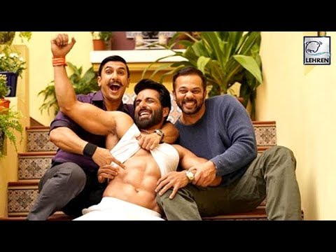 Ranveer Singh And Rohit Shetty Are Totally IN LOVE
