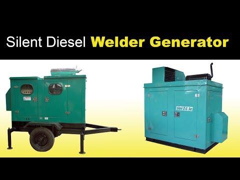 Silent Diesel Welder Generators