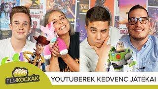 YouTuberek gyerekkori játékai: GoodLike, B. Nagy Réka, Baluka és Zsozeatya | FilmKockák