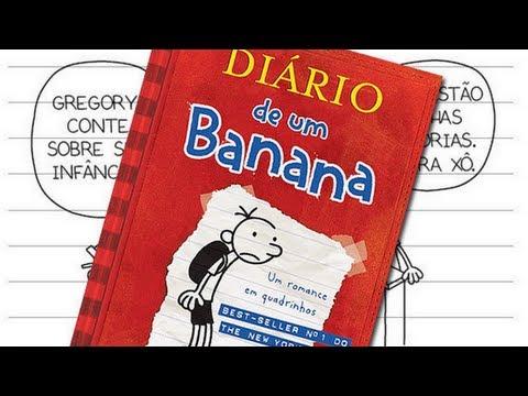 Resenha Diário de um Banana 1, Jeff Kinney - [Chiclete Violeta]