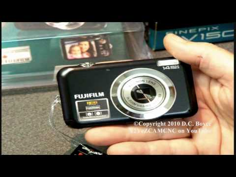 FUJIFILM FINEPIX JV150 Digital Camera Review