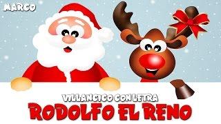 Rodolfo el Reno Letra, Villancicos Navideños, Canciones de Navidad, Rudolph El Reno de la Nariz Roja
