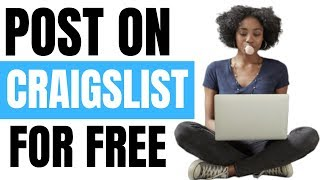 How do you post ads on Craigslist for free? [BRAIDERS]