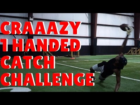 ONE HANDED CATCH CHALLENGE!