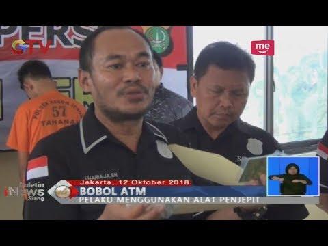 Polisi Kebon Jeruk Ungkap Modus Baru Pembobol ATM, Pelaku Berhasil Ditangkap - BIS 13/10