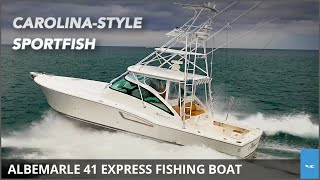 Albemarle 41 Express Offshore Fishing Boat Review | YachtWorld