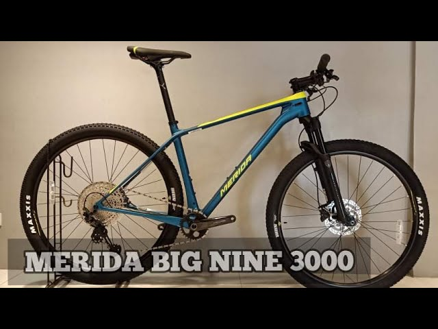 Видео Велосипед Merida Big Nine 3000 Glossy Pearl White/Matt Black